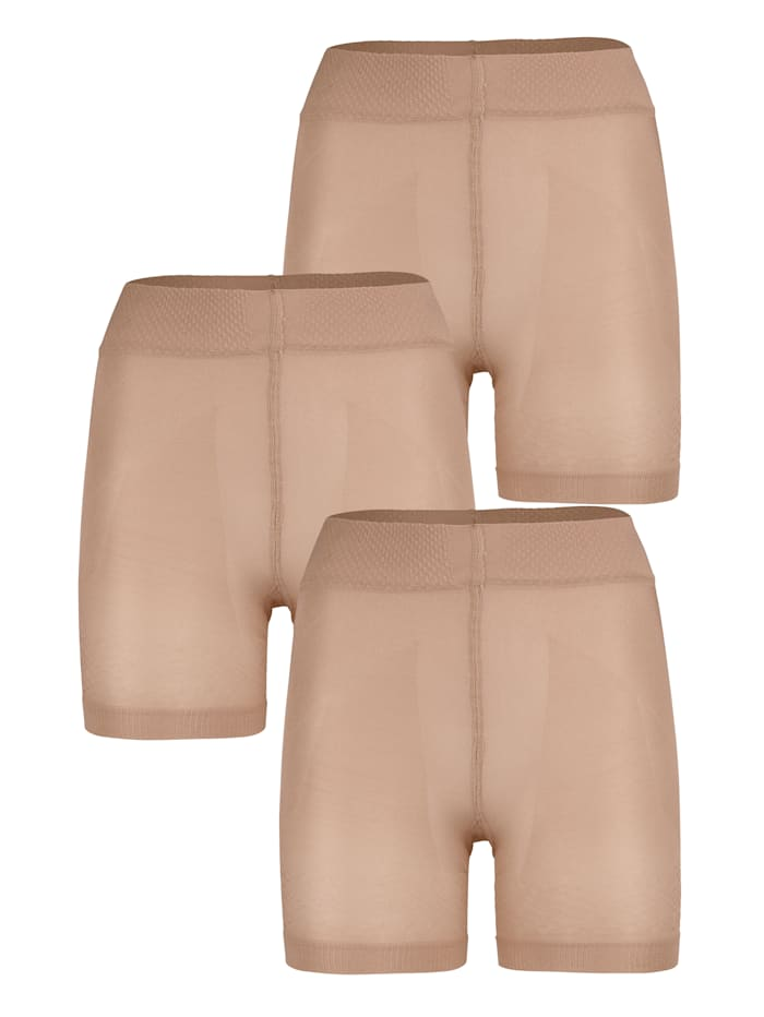 Short tights which smooth and sculpt your shape