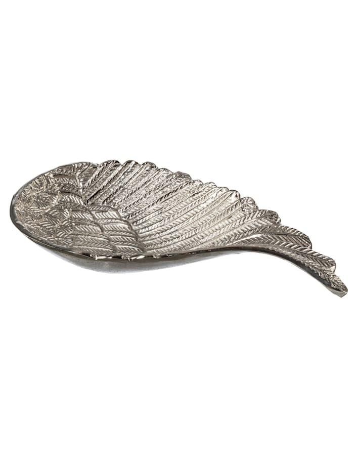 Creativ Deco Schaal Vleugel, Zilver