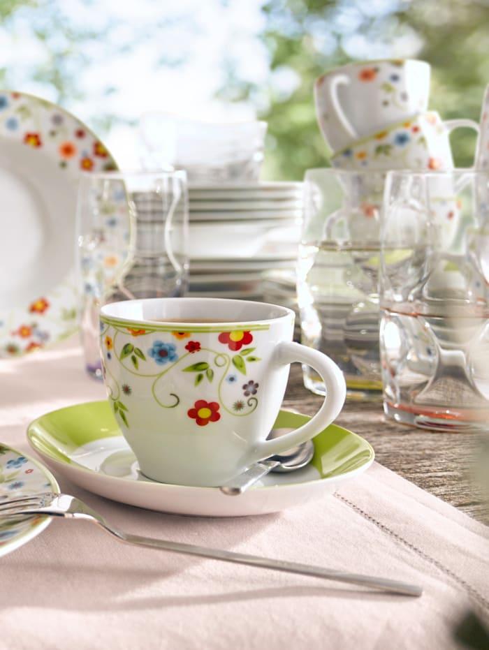 Kaffeservis i 18 delar –Vario Flower