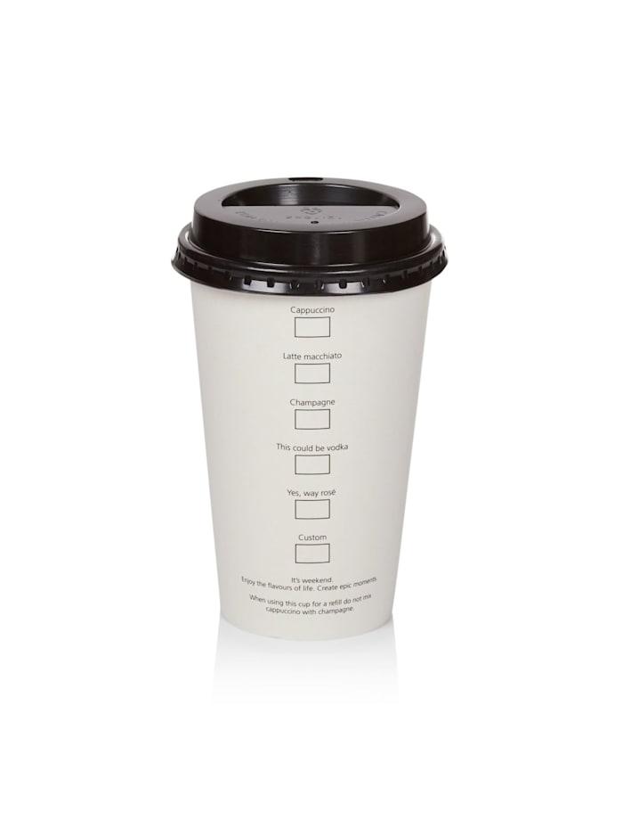 Coffee to go Becher-Set, 10-tlg.