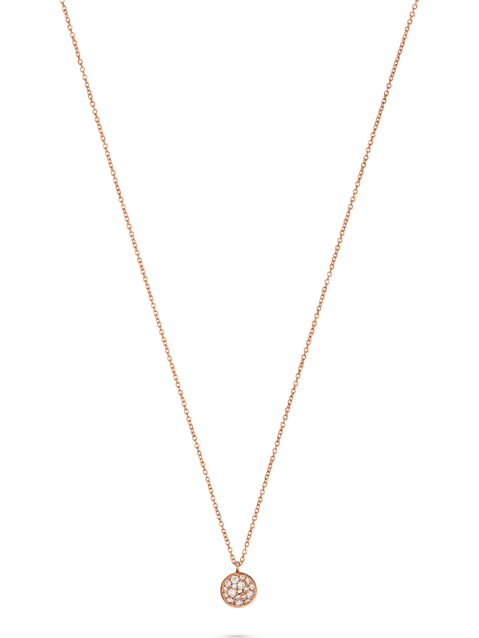 CHRIST C-Collection CHRIST Damen-Kette 585er Rotgold 18 Diamant, rotgold