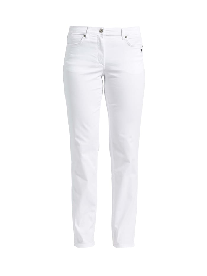 LauRie Hose CHARLOTTE in tollem Design, White