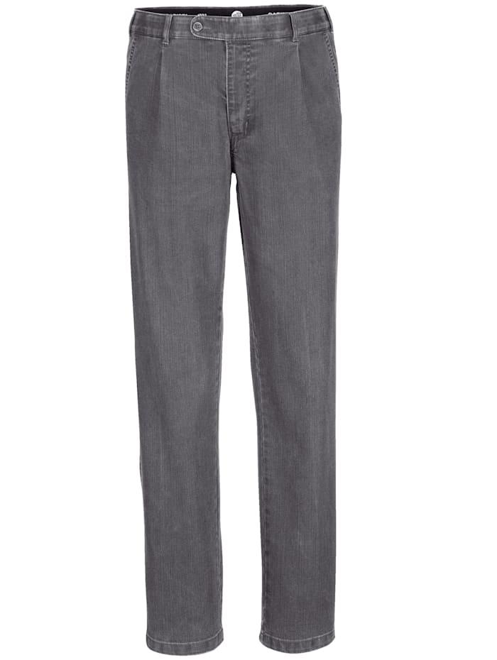 BABISTA Jeans met riem, Grijs