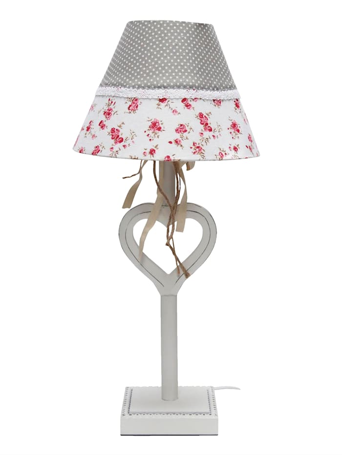 Bordslampa, Vit