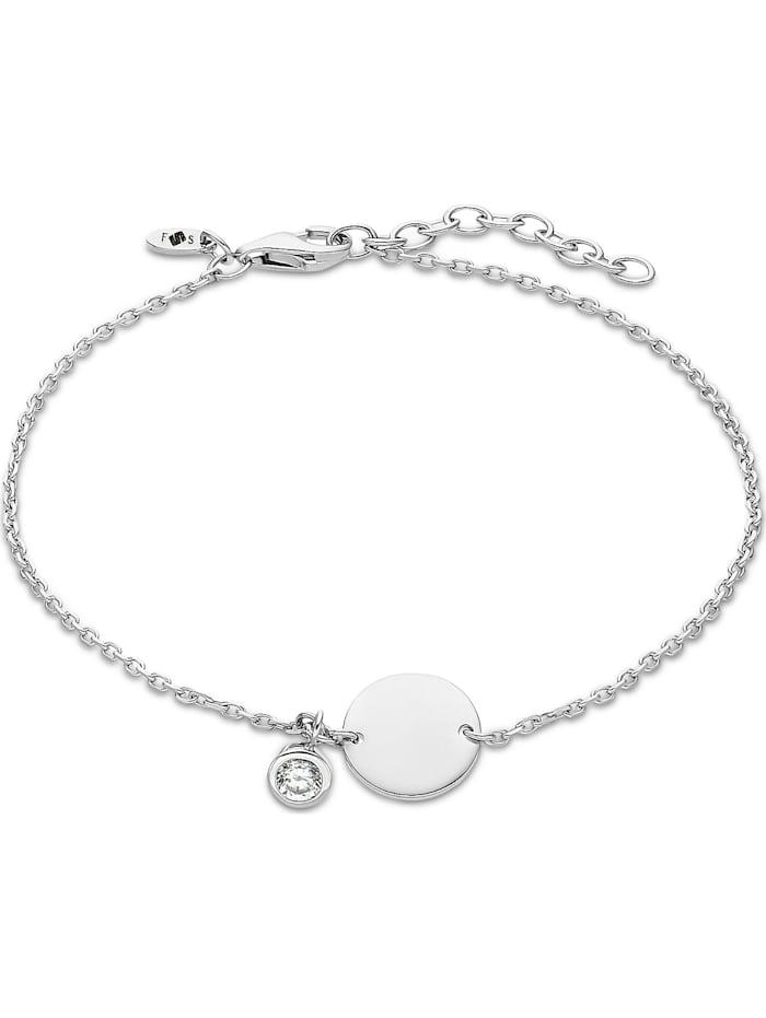 FAVS. FAVS Damen-Armband 925er Silber 1 Zirkonia, silber