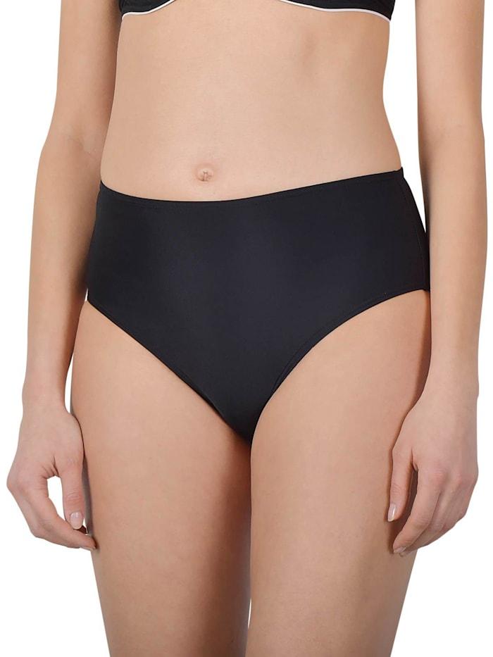 Naturana Damen Hüft-Bikini Unterteil, schwarz