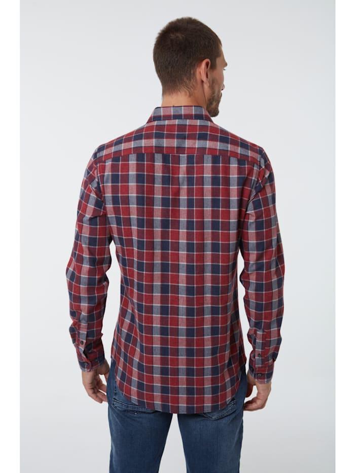 Holzfäller-Style Hemd Archard mit kariertem Flanell