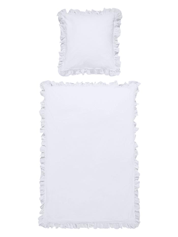 MARAVILLA Bettwäsche, Weiß