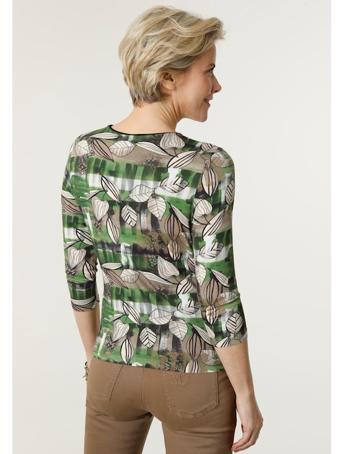 Shirt im Muster-Mix