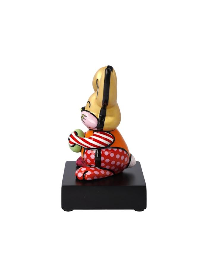 """Goebel Figur Romero Britto - """"Orange Rabbit"""""""
