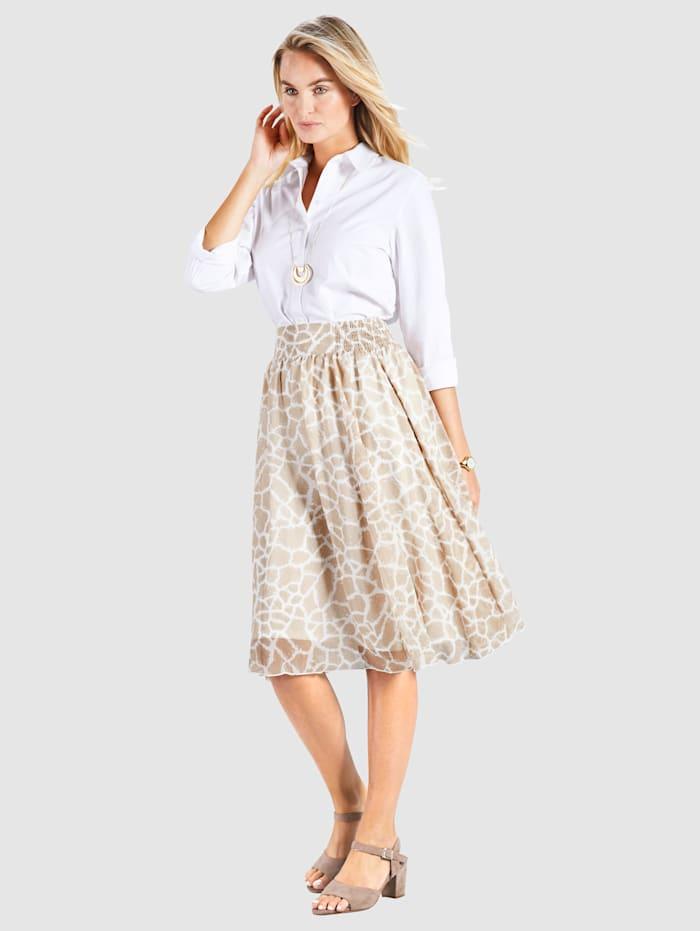 Kjol med komfortresår i sidorna