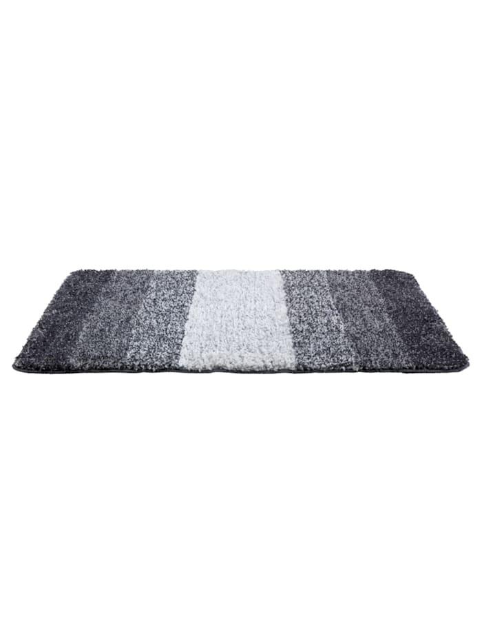 Badteppich Luso Grau, 60 x 90 cm