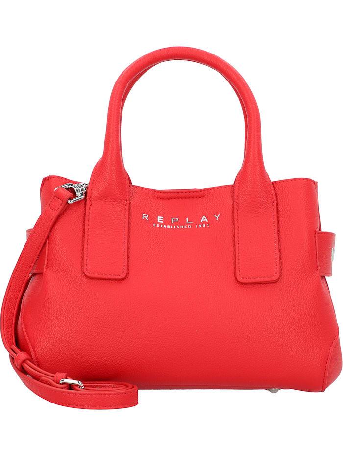 REPLAY Handtasche 30 cm, red