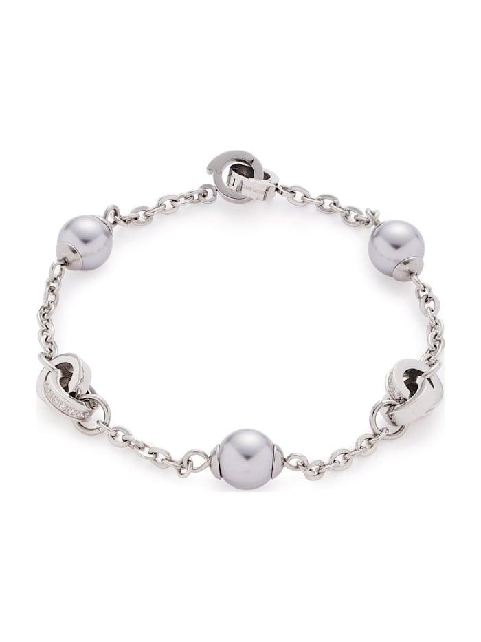 Leonardo Leonardo Damen-Armband Lotta Darlins Edelstahl, silber
