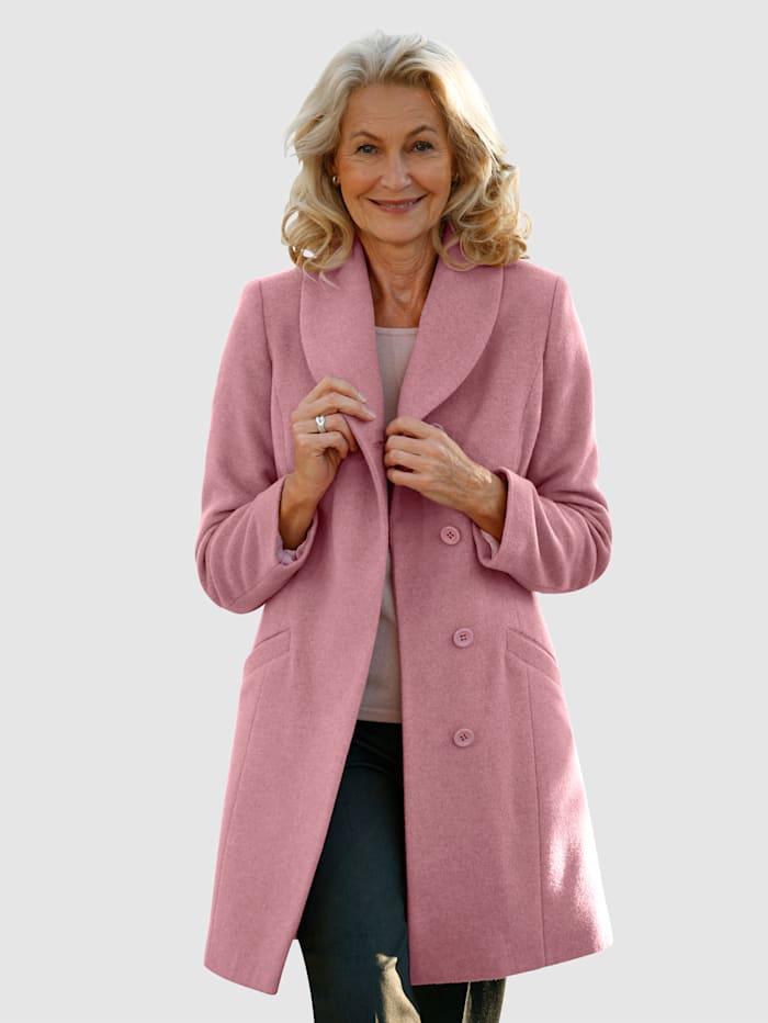 Paola Manteau de qualité haut de gamme, Vieux rose