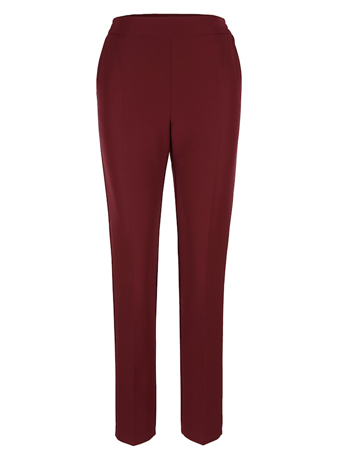 Trousers with an elasticated waist