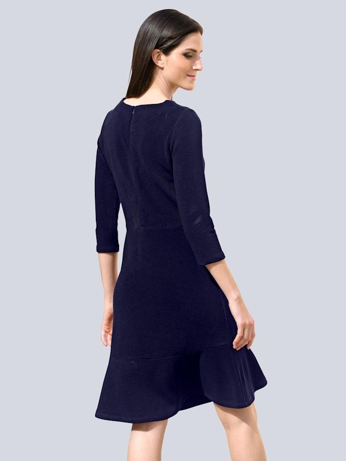 Jersey jurk met volants