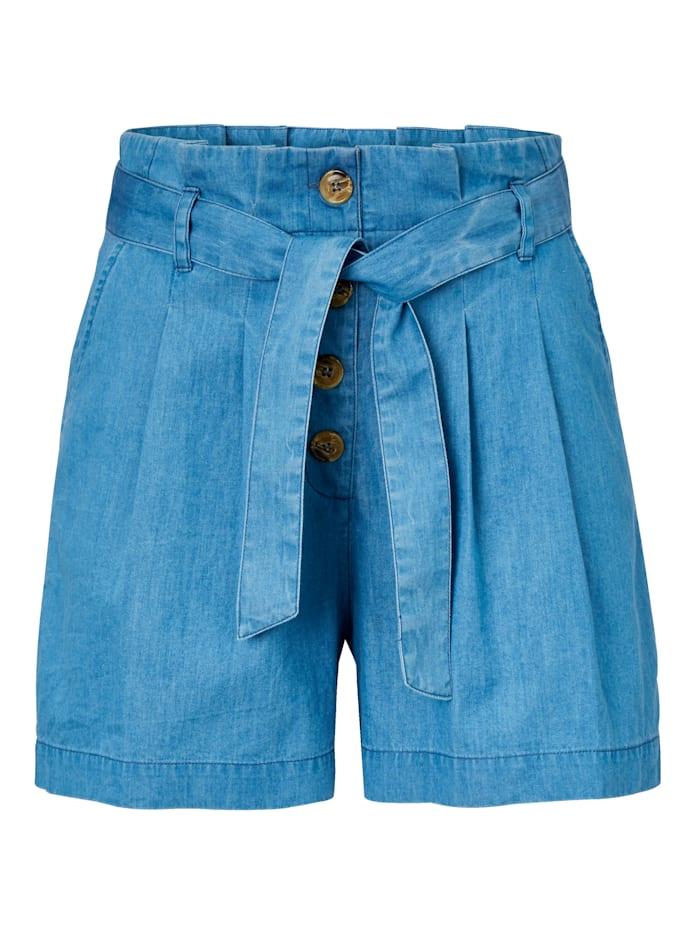 REKEN MAAR Shorts, Blau