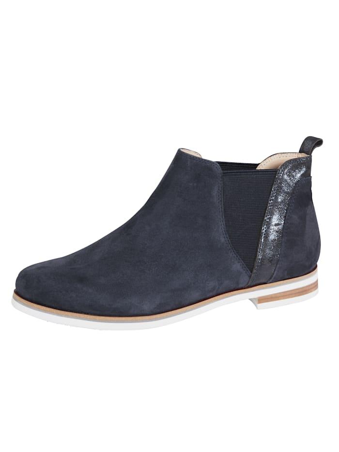 MONA Chelsea boots, Dark Blue
