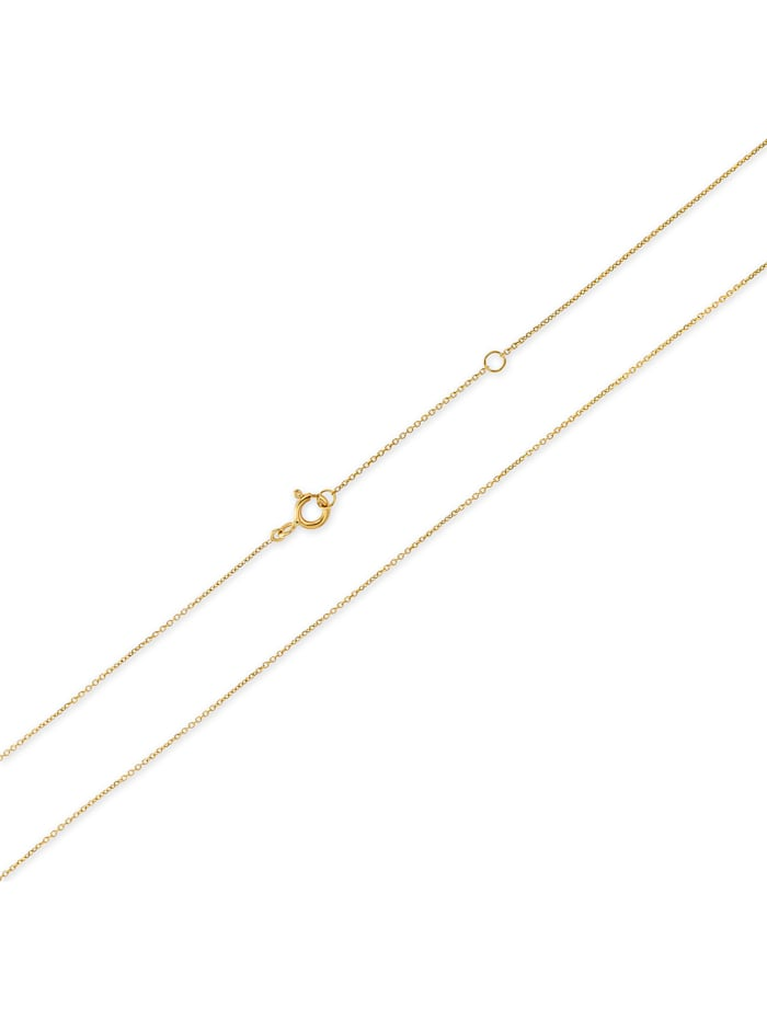 CHRIST Damen-Kette 375er Gelbgold 1 Diamant