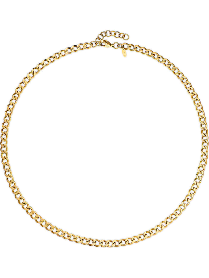 FAVS. FAVS Damen-Kette Edelstahl, gold