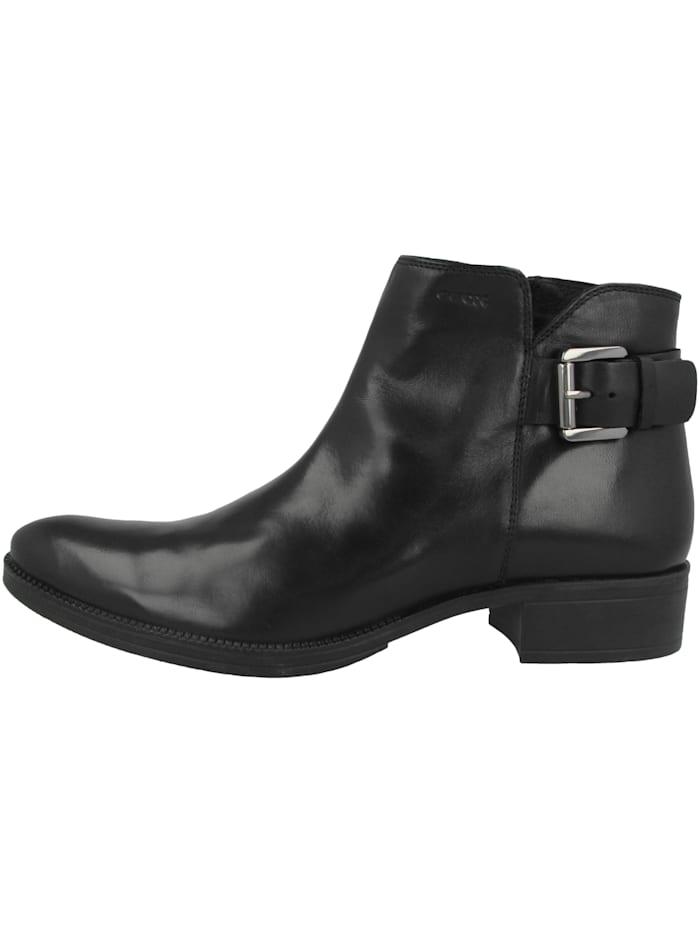 Geox Boots D Laceyin A, schwarz