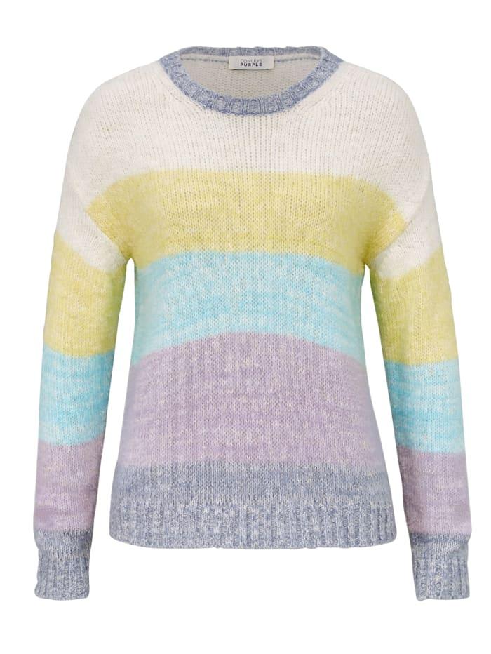 CONLEYS PURPLE Strickpullover, Multicolor