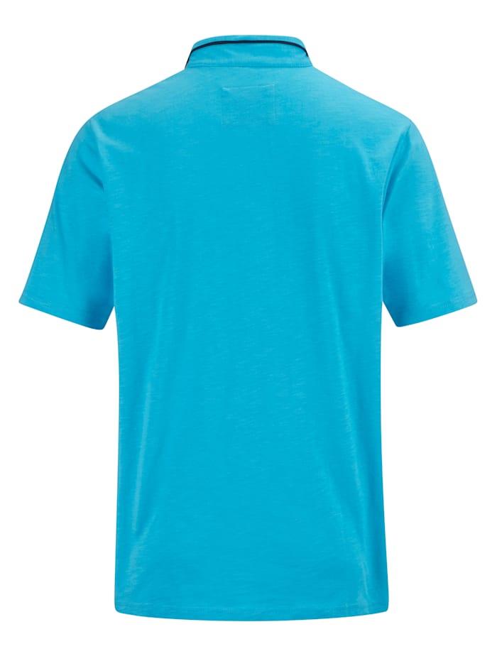 Shirt met modieuze opstaande kraag
