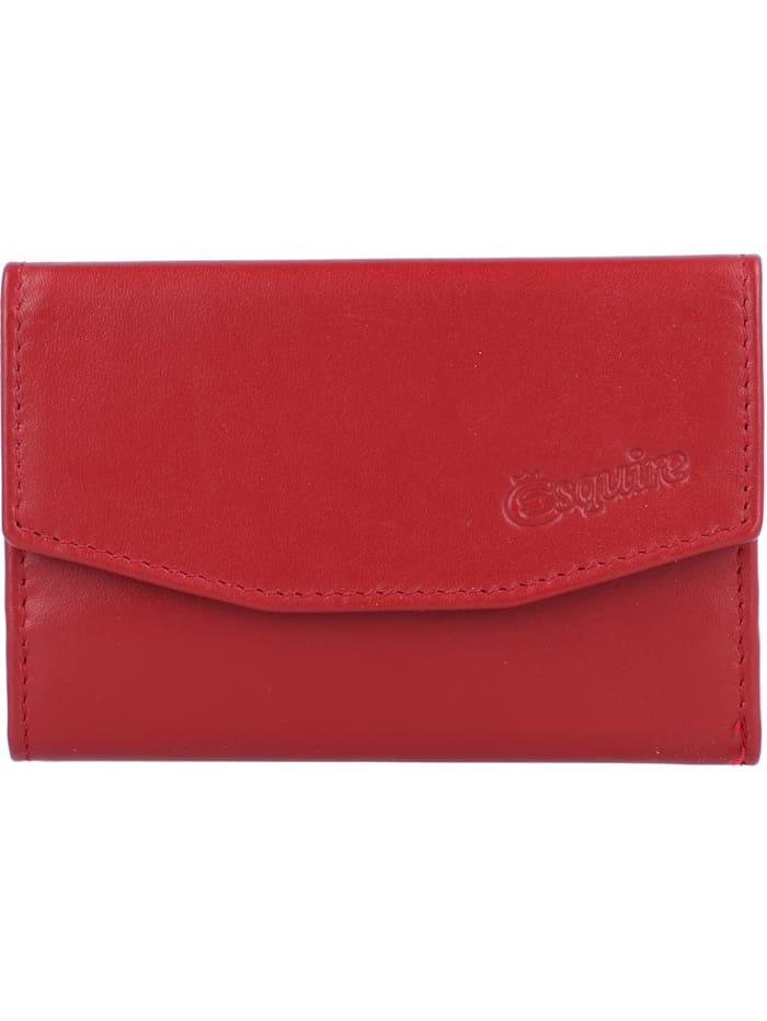 Esquire New Silk Schlüsseletui Leder 10 cm, rot