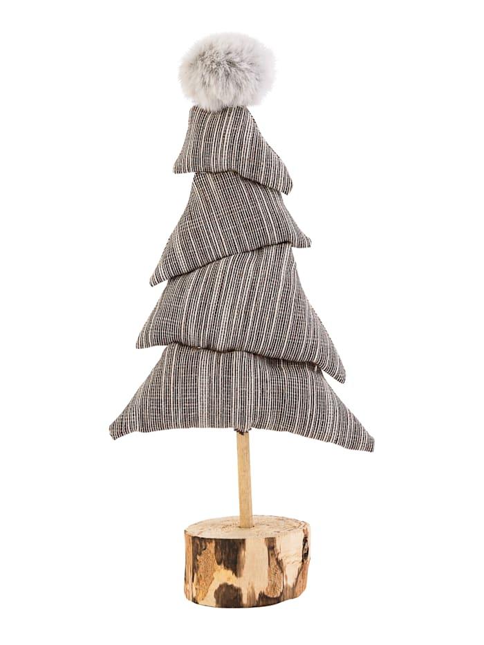 IMPRESSIONEN living Deko-Objekt, Weihnachtsbaum, grau
