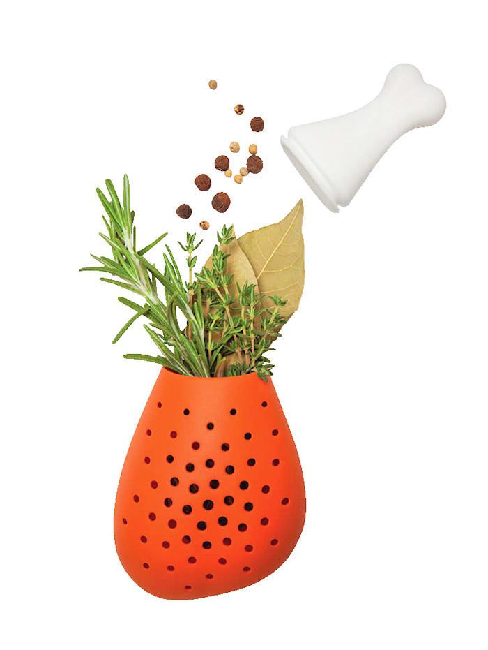 UBTC 2er-Set Gewürzknochen, orange