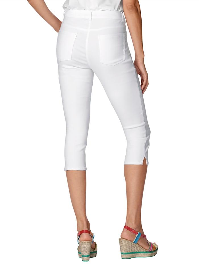 Capri džínsy v elastickej kvalite