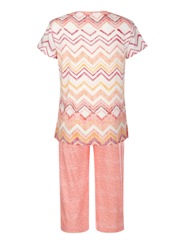 Schlafanzug mit trageangenehmem Tencelanteil