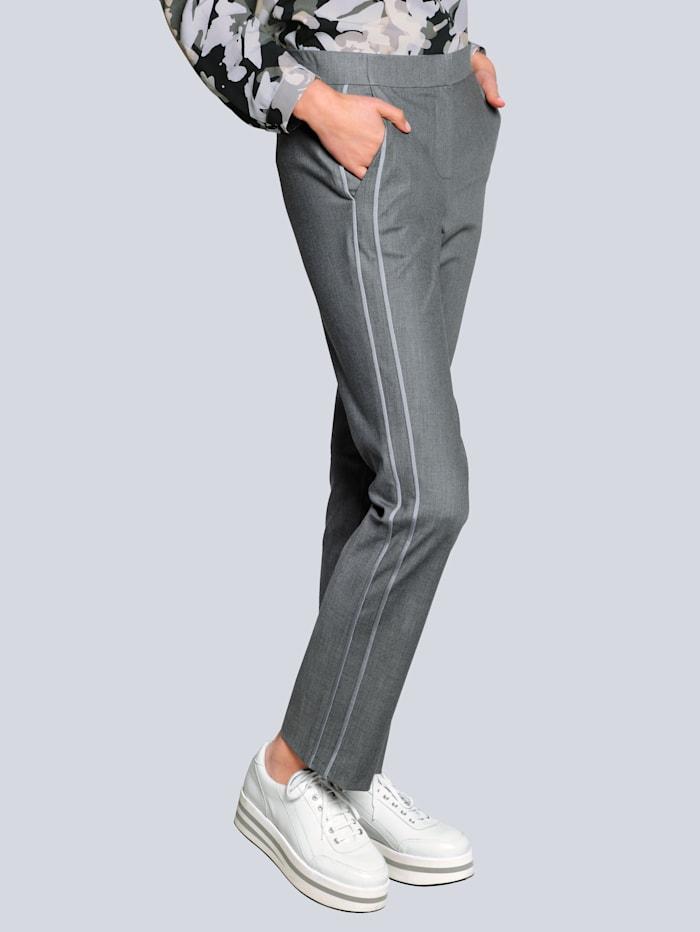 Alba Moda Sweatpants in klassieke kleuren, Grijs