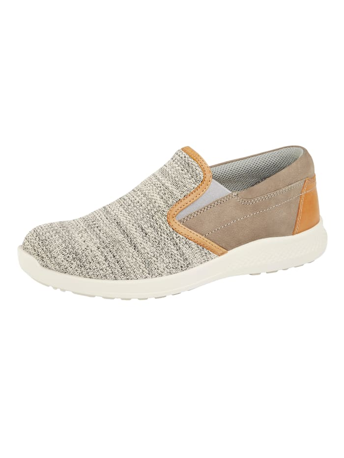 Naturläufer Slipper mit Superstretch-Textil, Braun/Beige