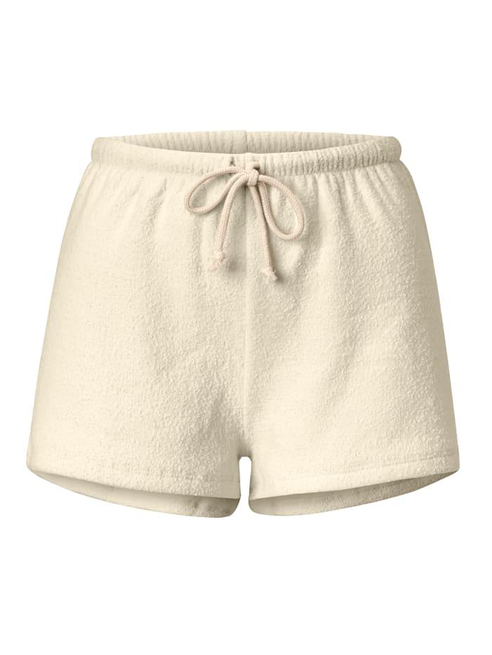 American Vintage Sweatshorts, Creme-Weiß