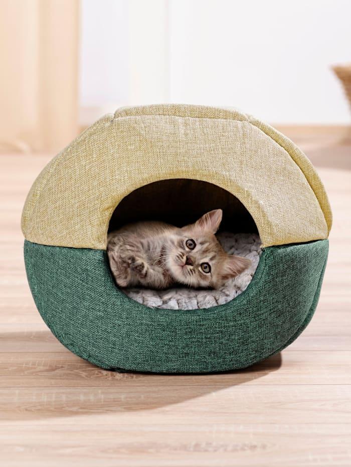 TRI Katzenhöhle 2in1, mehrfarbig