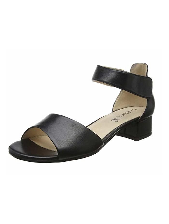 Caprice Sandalen/Sandaletten, schwarz