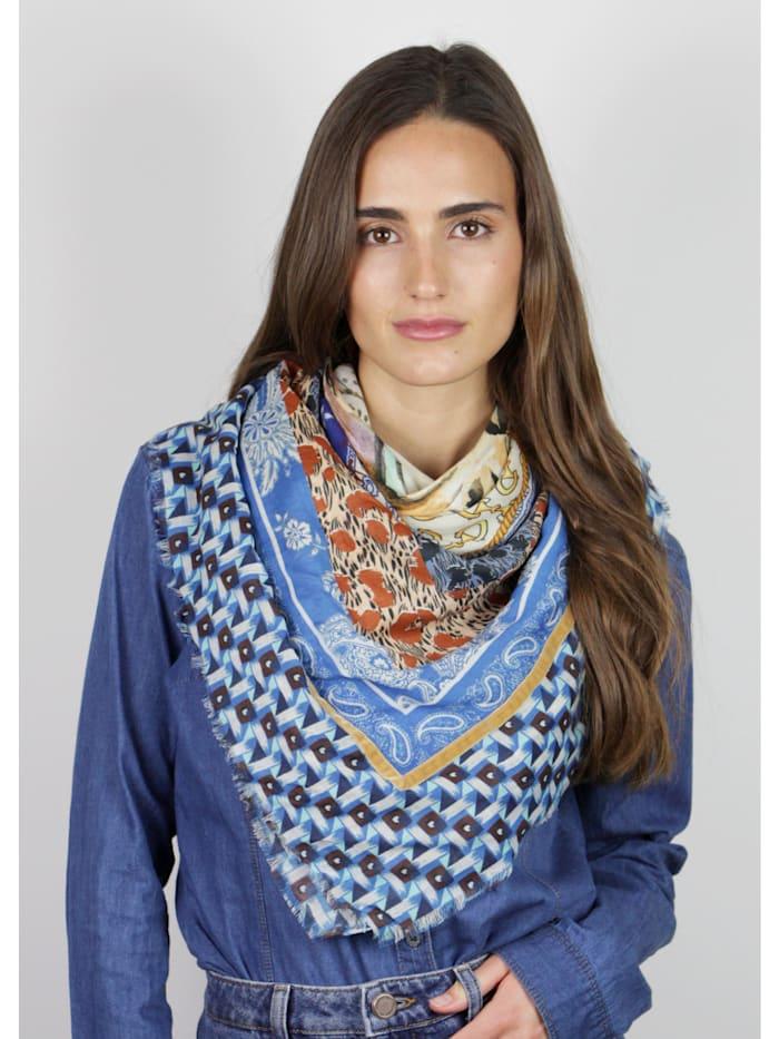 Softes Tiger-Tuch aus Baumwolle und Modal