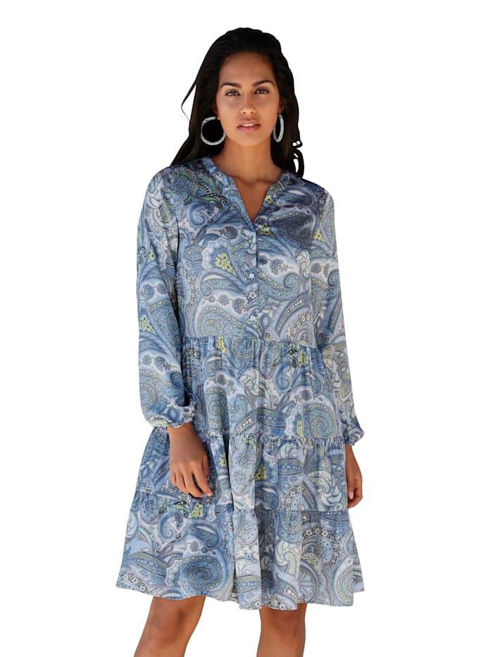 Kleid mit Paisley-Druck
