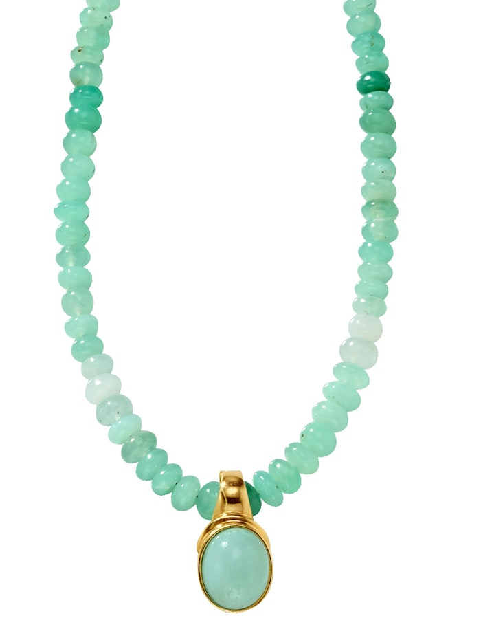 Opal-Kette, Grün