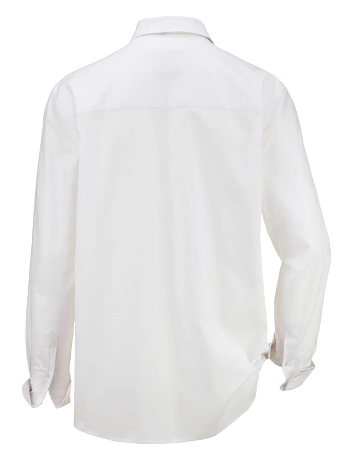 Overhemd van een linnenmenging