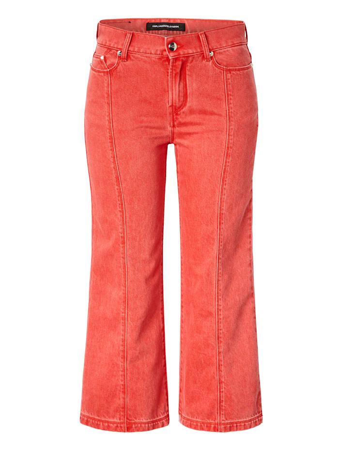 Karl Lagerfeld Denim Jeans, Rot