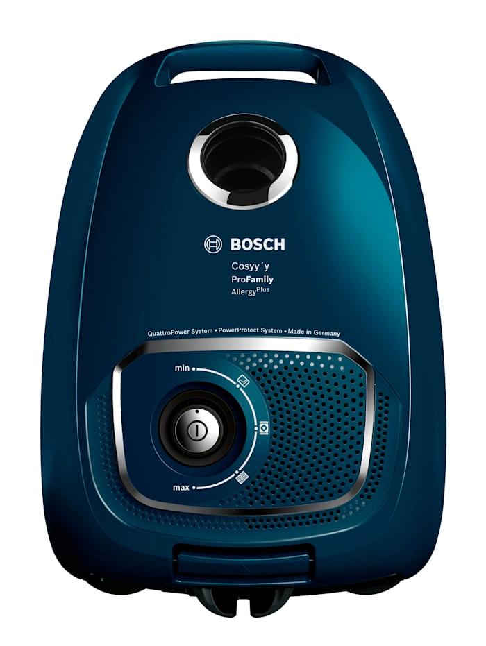 Bosch Stofzuiger met stofzak, blauw