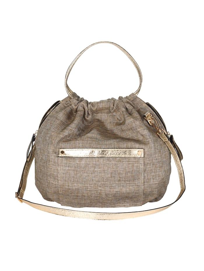 BOGY´S Brooklyn NY Pussukkakäsilaukku, kullanvärinen
