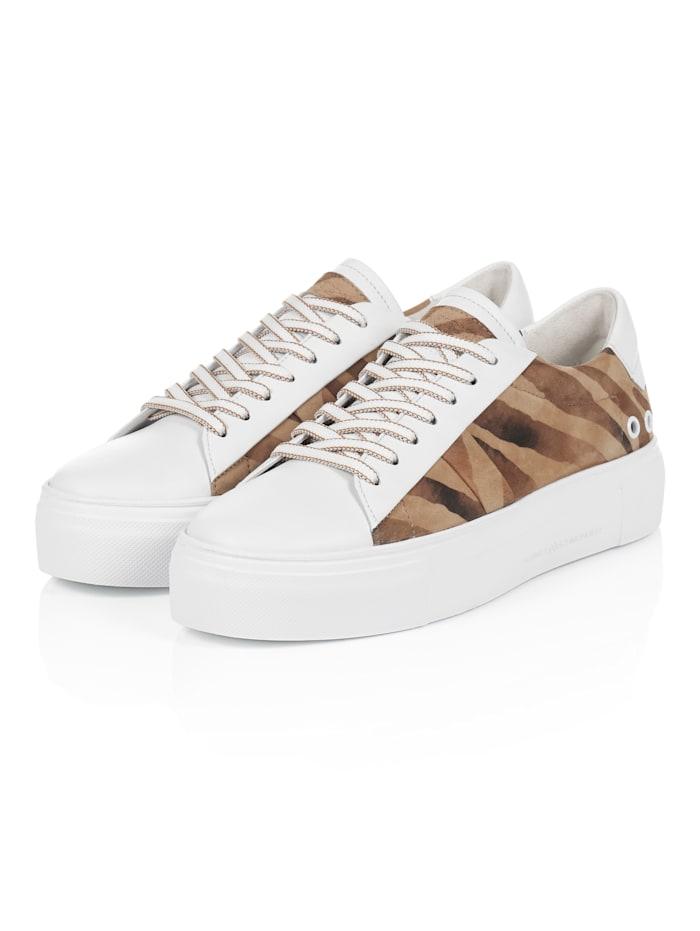 Kennel & Schmenger Sneaker, Braun/Weiß
