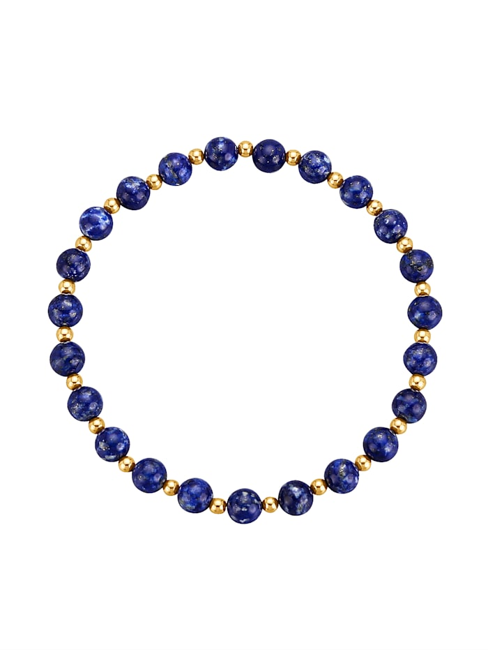 Bracelet lapis lazuli, Bleu