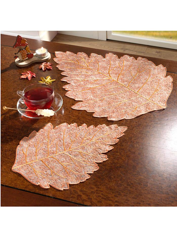 Deckchen 'Herbstblatt'