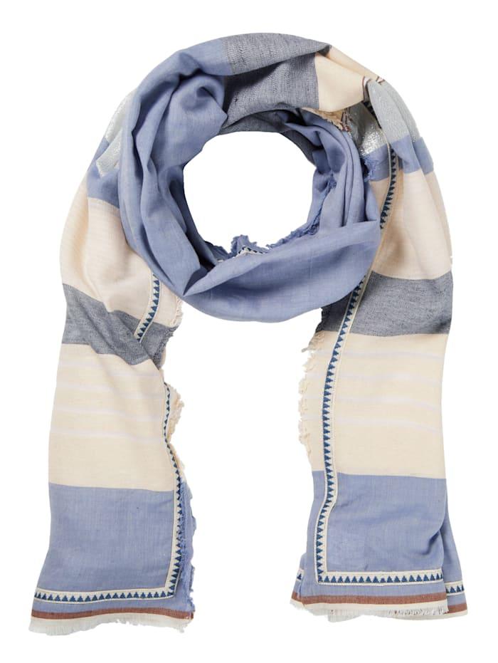 Rubicon Tuch, blau-weiß