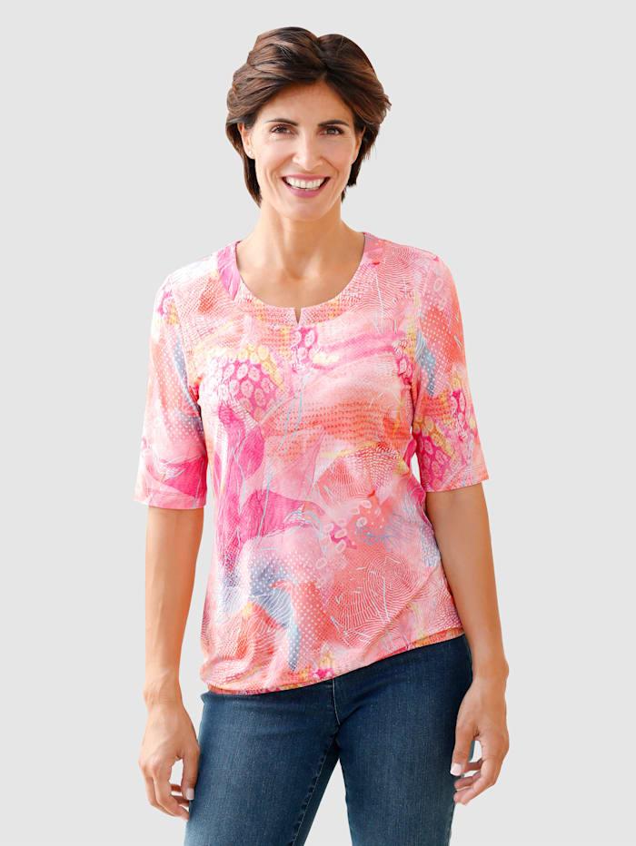 Paola Shirt von RABE, Blau/Grün/Koralle